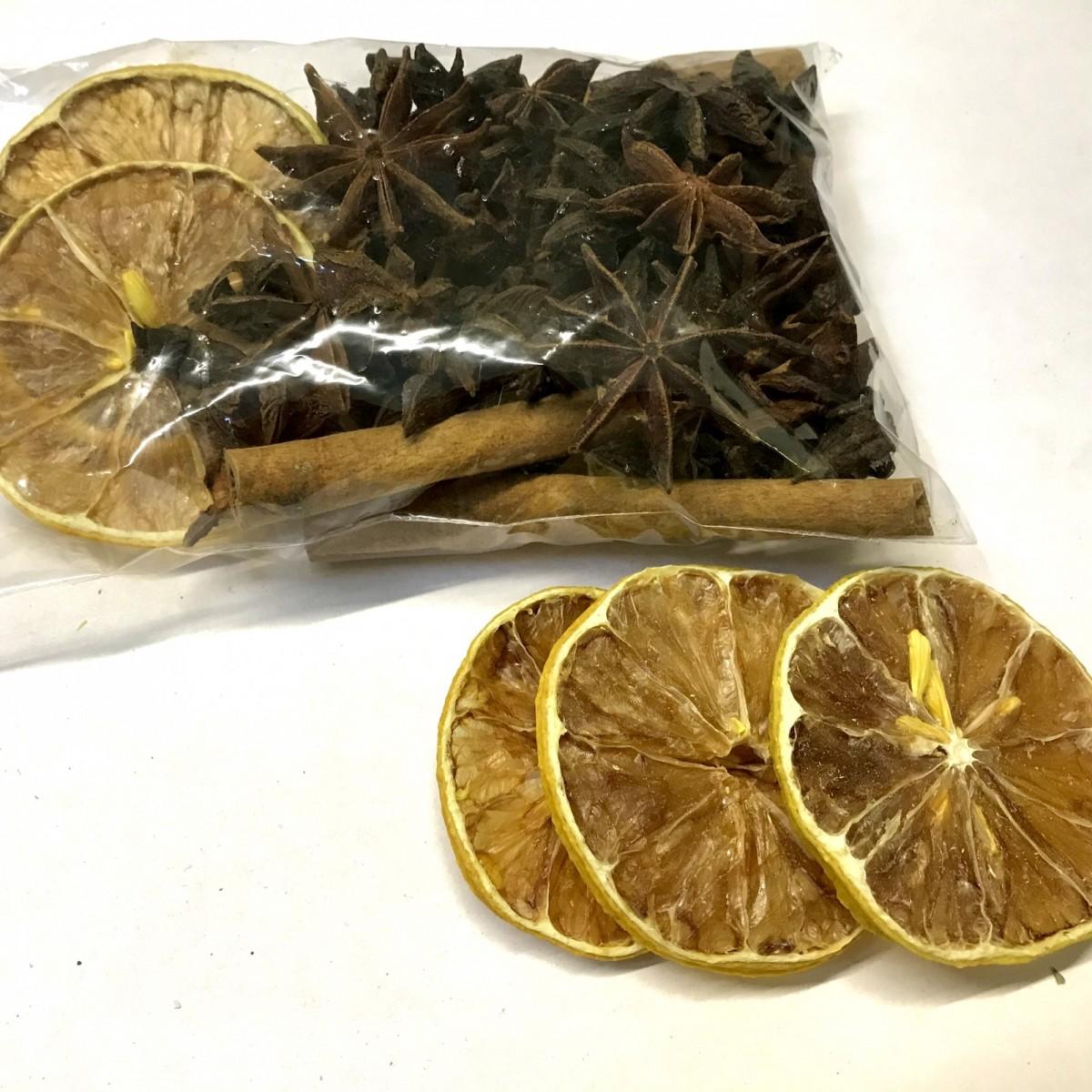 Смесь для чая и кофе с лимоном (60 гр.)
